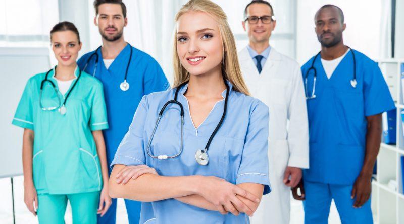 Diferentes especialidades de enfermería