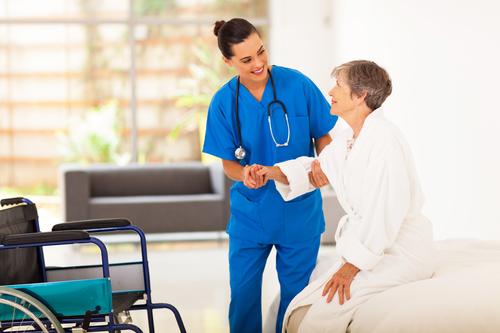 Atención médica enfermera
